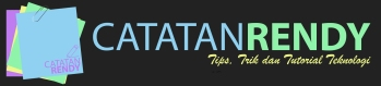 Logo Baru Blog Catatan Rendy